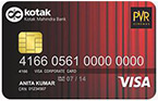 PVR Gold Credit Card