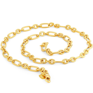 Sukkhi Modern Gold Plated Chain for Men